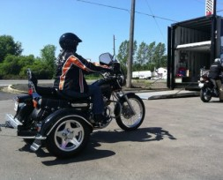 motorcycle dealership demo ride